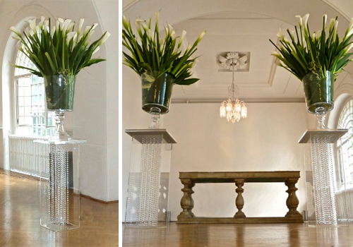 Floral Display Plinths