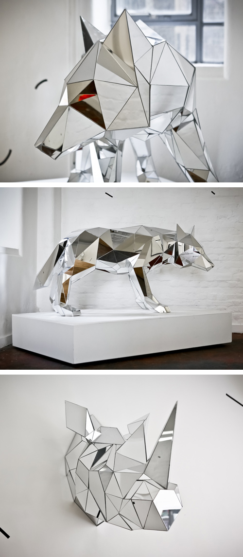 Mirror Sculptures