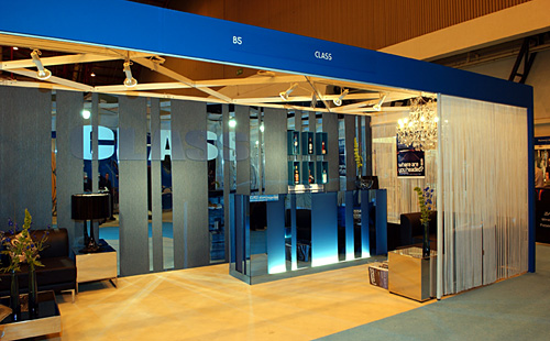 Class Exhibition Stand
