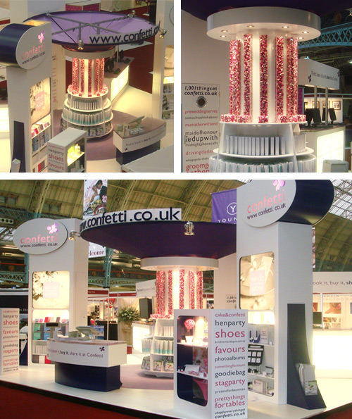 Confetti Exhibition Stand