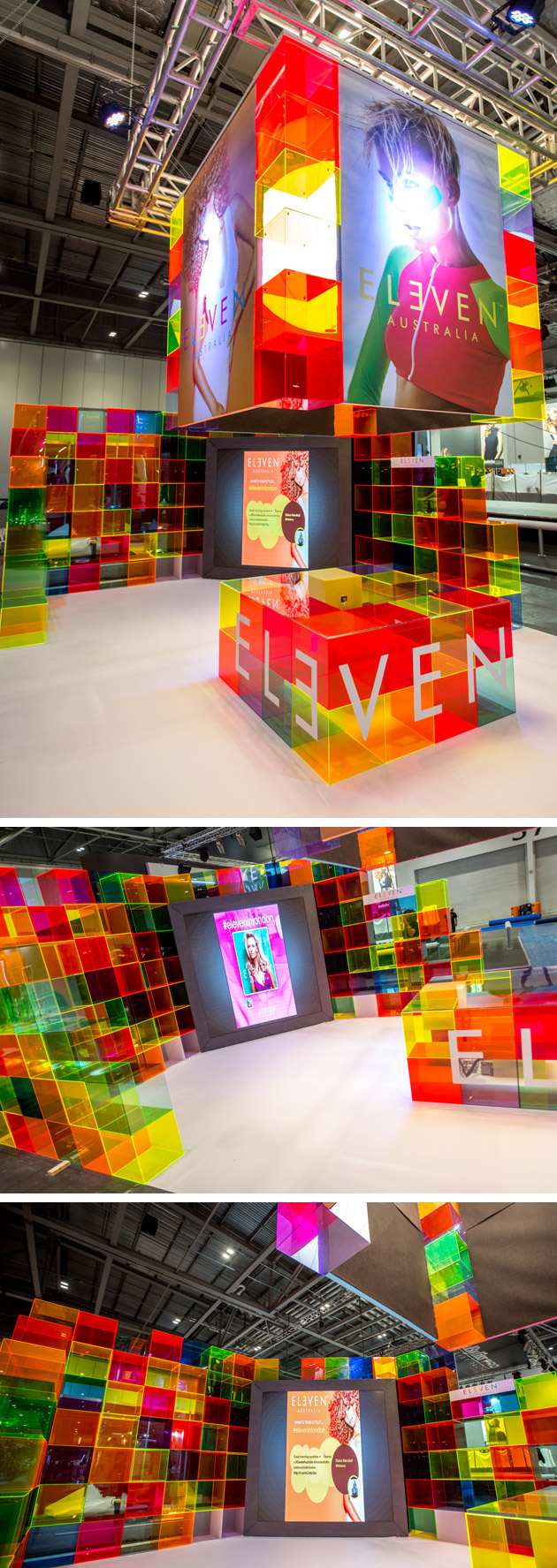 Exhibition Stand Design Australia : Perspex fabrication and acrylic exhibition
