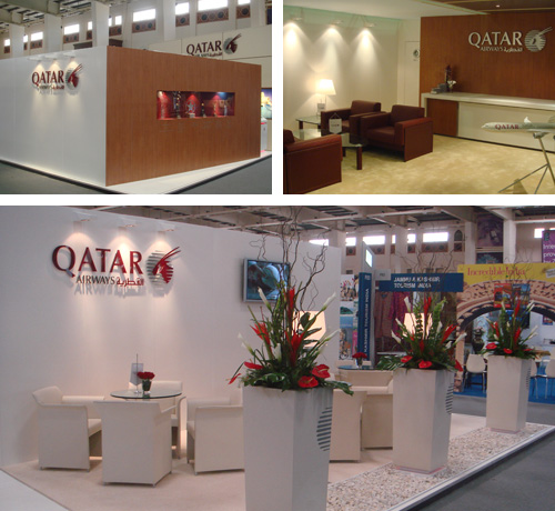 Qatar Airways Exhibition Stand
