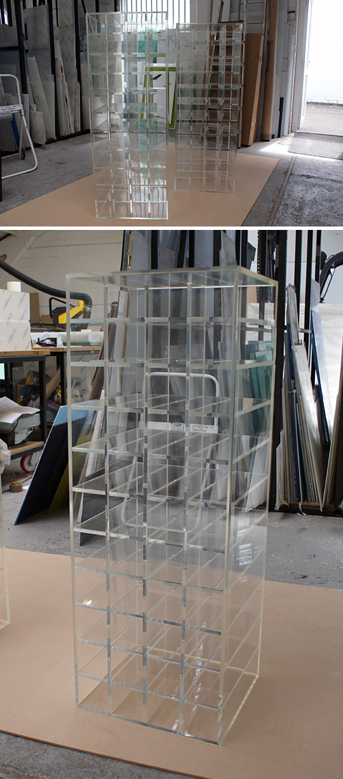acrylic perspex furniture. wine racks acrylic perspex furniture