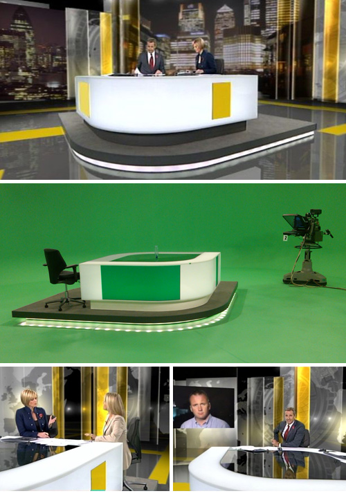 ITV News at Ten Studio